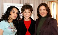 Lumidee, Linda Gottlieb and Kelly Bishop at the drive-in