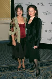 Priscilla Lopez and Kelly Bishop at the Tony Awards Honor Presenters And Nominees.