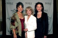 Priscilla Lopez, Sondra Gilman and Kelly Bishop at the Tony Awards Honor Presenters And Nominees.