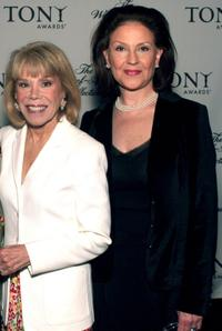 Sondra Gilman and Kelly Bishop at the Tony Awards Honor Presenters And Nominees.