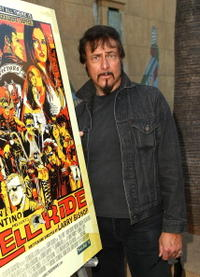Larry Bishop at the premiere of