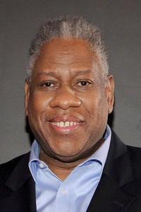 Andre Leon Talley at the 54th Annual GRAMMY Awards in California.