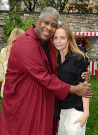 Andre Leon Talley and Stella McCartney at the Stella McCartney Resort 2013 Presentation in New York.