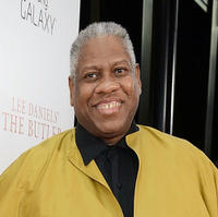 Andre Leon Talley at the New York premiere of
