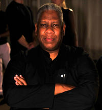 Andre Leon Talley at the Parke & Ronen Spring 2013 Collection Runway Show in New York.