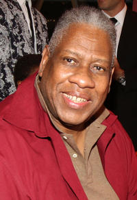 Andre Leon Talley at the event of Rockport and Dylan's Candy Bar Fashion Night Out in New York.