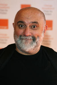 Alexei Sayle at the Orange Broadband Prize for Fiction in London.