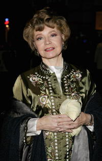 Prunella Scales at the UK premiere of