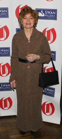 Prunella Scales at the Oldie Of The Year Award.