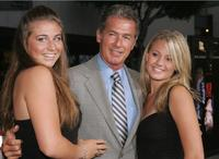 Jack Scalia and daughters Jacqueline and Olivia at the premiere of the
