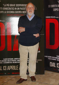 Renato Scarpa at the Milan premiere of