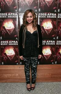 Jessica Mauboy at the 2009 APRA Music Awards Nominations and Launch event.