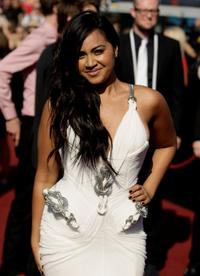 Jessica Mauboy at the 2009 ARIA Awards.