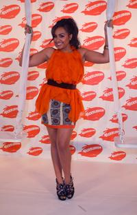 Jessica Mauboy at the Australian Nickelodeon Kids' Choice Awards 2009.