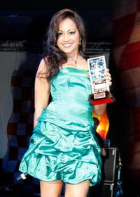 Jessica Mauboy at the Indigenous Music Awards 2009.