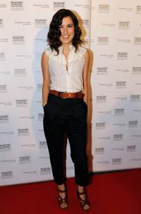 Missy Higgins at the premiere of