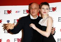 Claudio Bisio and Giorgia Wurth at the photocall of