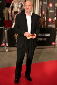 Claudio Bisio at the David di Donatello Movie Awards.