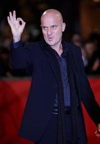 Claudio Bisio at the premiere of
