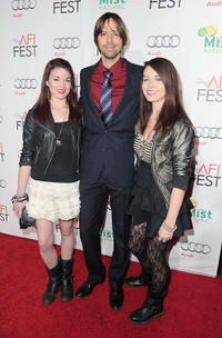 Jade Ramsey, Brett Jacobsen and Nikita Ramsey at the