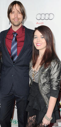 Brett Jacobsen and Nikita Ramsey at the