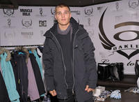 Chris Zylka at the Oakley Learn To Ride Fueled By Muscle Milk And Lounge - Day 1.
