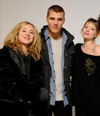 Juno Temple, Chris Zylka and Haley Bennett at the Sundance Film Festival in Utah.