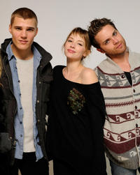 Chris Zylka, Haley Bennett and Thomas Dekker at the Sundance Film Festival in Utah.