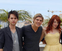 Thomas Dekker, Chris Zylka and Nicole LaLiberte at the photocall of