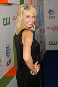 Josie Bissett at the premiere of