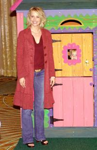 Josie Bissett at the 2002 Lullabies and Luxuries Fashion Event.