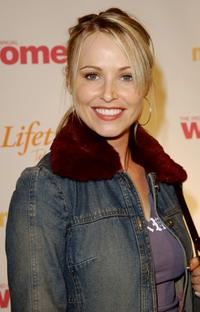 Josie Bissett at the Women Rock! Girls & Guitars Third Annual Concert For The Fight Against Breast Cancer.