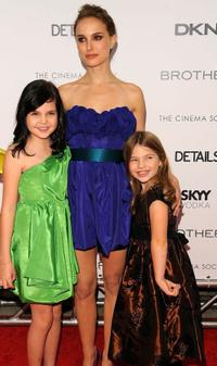 Bailee Madison, Natalie Portman and Taylor Geare at the screening of