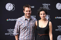 Will Forte and Jenny Slate at the after party of the premiere of