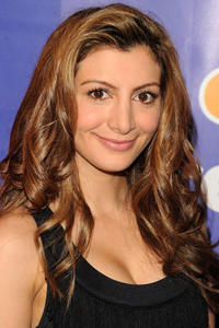 Nasim Pedrad at the NBC Universal's 2010 Upfront Presentation in New York.