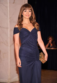 Nasim Pedrad at the 2012 White House Correspondents' Association Dinner.