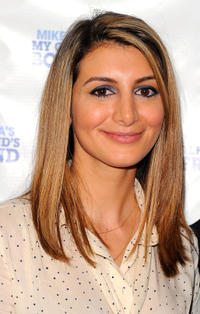 Nasim Pedrad at the off-Broadway opening night of