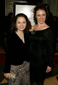 Jenna Gavigan and Leigh Spofford at the New York premiere of