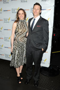 Maria Dizzia and Will Eno at the 2013 Drama Desk Awards.