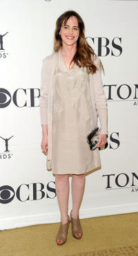 Maria Dizzia at the 2010 Tony Awards Meet the Nominees Press Reception.