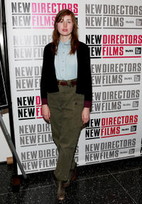 Kate Lyn Sheil at the premiere of