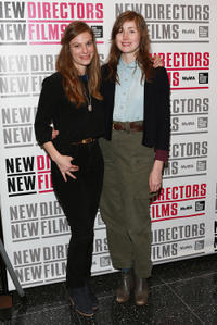 Lindsay Burdge and Kate Lyn Sheil at the at the premiere of