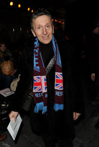 Simon Doonan at the Alexander Wang Fall 2010 Fashion Show during the Mercedes-Benz Fashion Week.