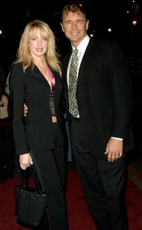 John Schneider and his wife at the Los Angeles Free Clinic 25th Annual Dinner.
