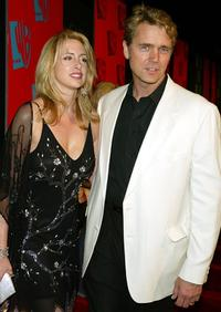 John Schneider and wife Elli at the WB Networks 2004 All-Star Winter Party.