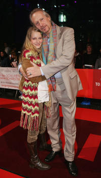 Anja Schone and Reiner Schone at the German premiere of