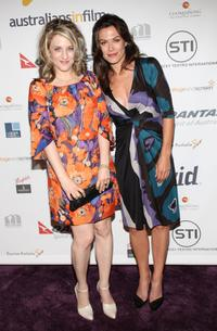 Bitty Schram and Laura McLauchlin at the Australians In Film 2008