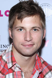 Justin Deeley at NYLON Magazine party in Hollywood.