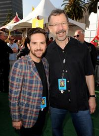 John Morris and Ed Catmull at the after party of the premiere of