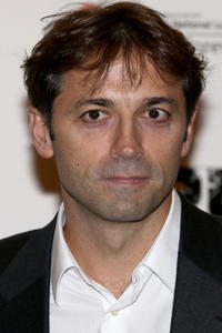 Director Luis Prieto at the gala screening of 'Pusher' in London.